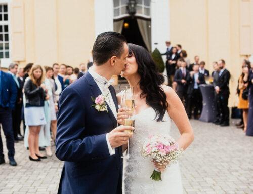 Wunderschöne Hochzeit von Olesja und Roman auf Schloß Miehl