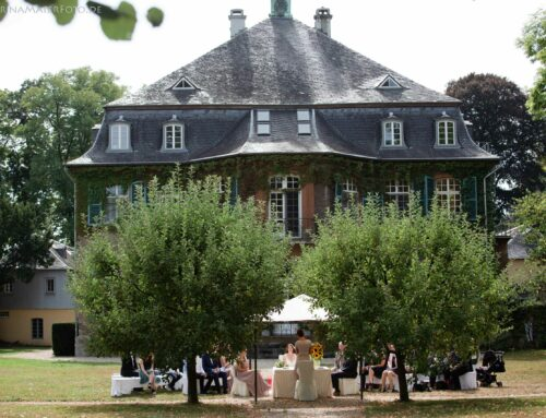 Trauung am Schloss Eicherhof